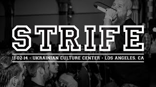 Strife - Blistered / Force Of Change - 11.02.14 - Ukrainian Cultural Center - Los Angeles, CA