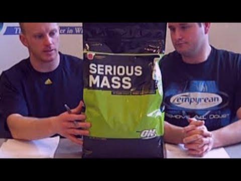 Optimum Nutrition Serious Mass Review Video