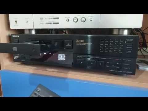 SONY CDP-X333ES - il miglior lettore CD mai costruito