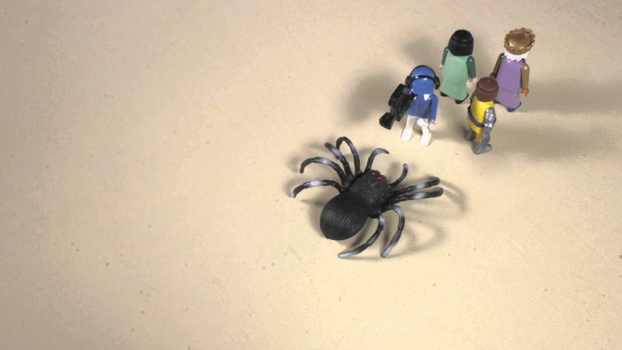 El ataque de la araña