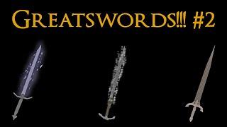Dark Souls 3 PVP - Greatswords, Greatswords, Greatswords #2