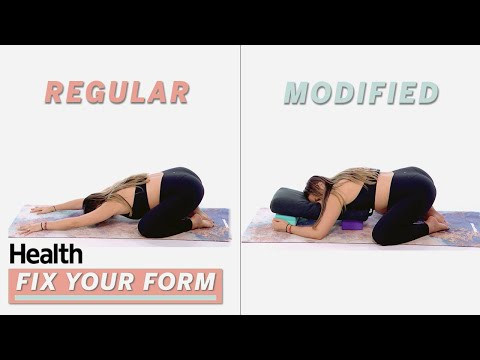 3 Prenatal Yoga Poses For All Trimesters – Sarah Levey | Fix Your Form | Health
