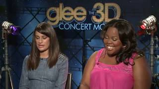 Glee Cast Hating Lea Michele For 3 Minutes Straight