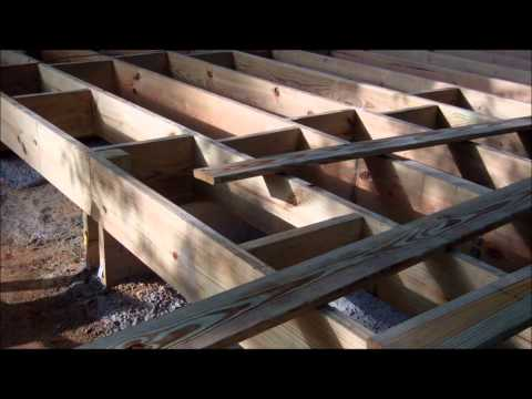 Diseño y construcción de un Deck en Madera     Arq. David Sosa