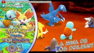 Drilbur  - (Pokémon) - Pokémon Mundo Megamisterioso #03 - ¡La mina de los Drilbur!