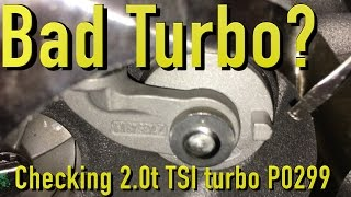 Does Your VW/Audi 2.0t TSI Have A Bad Turbo
