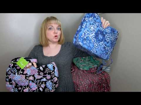 My Review and Comparison of the Walmart Waverly Purses versus Vera Bradley