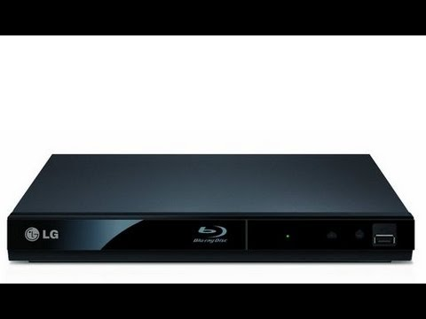 LG Blu-Ray Player BP125 Unboxing