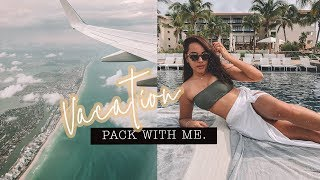 Pack With Me MEXICO VACATION + Swimwear Haul AD | Antonnette