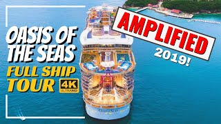 Royal Caribbean Oasis of the Seas   Full Walkthrough Ship Tour & Review   4K   All Public Spaces