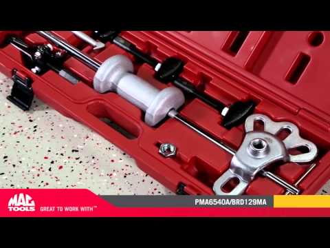 8 Pc Rear Axle Bearing Puller Set