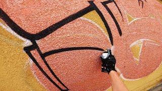 Graffiti - Tesh   Rooftop   GoPro [4K]
