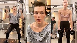 Milla Jovovich | Instagram Live Stream | 4 February 2019
