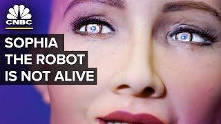 Humanoid Robot Sophia - Almost Human Or PR Stunt