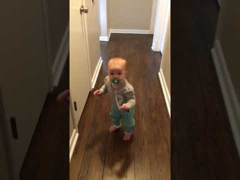 Nora's first steps on her 1st birthday!
