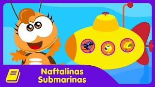 Galinha Pintadinha Mini - Historinha - Naftalinas Submarinas