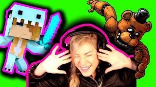 "★ PUNK ROCK PRINCESS | REACTION to PSYCHO SiS 2 | Minecraft Psycho Girl Reaction ""I LOVE MY SWORD"""