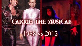 """Carrie: The Musical - """"Do Me A Favor"""" w/ Lyrics (1988 vs 2012)"""
