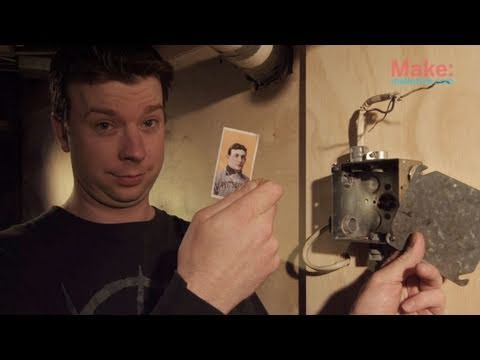 Make A Hidden Stash Out Of A Fake Junction Box