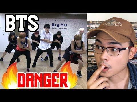 Download Bts Danger Dance Practice Reaction Video 3GP Mp4
