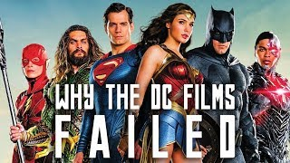 Why the DC Films Failed