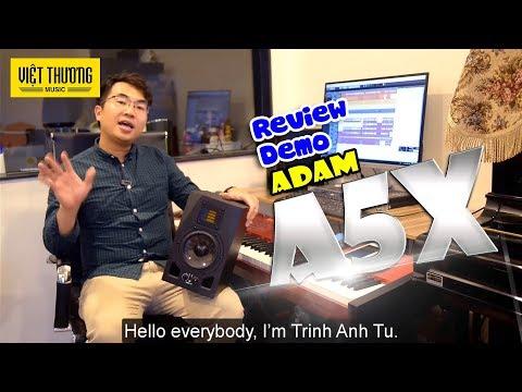 Review và Demo loa kiểm âm Adam A5X