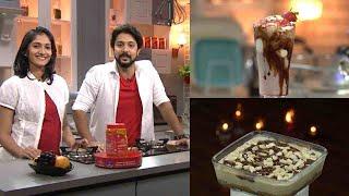 #RuchiVismayam | EP - 06 Strawberry Chocolate Shake & Chocolate Cake Pudding | | Mazhavil Manorama