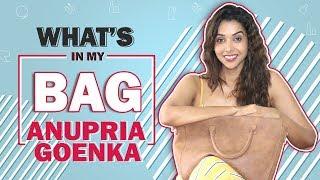 What's In My Bag With Anupria Goenka | Bag Secrets Revealed