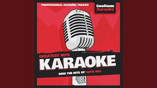 Love Is a Sweet Thing (Originally Performed by Faith Hill) (Karaoke Version)