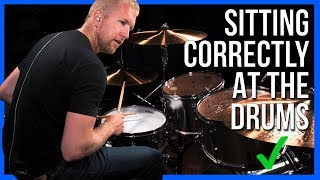 How To Have Good Posture On The Drums
