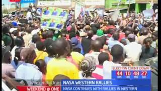 A on a charm offensive in Vihiga : Raila Odinga's address