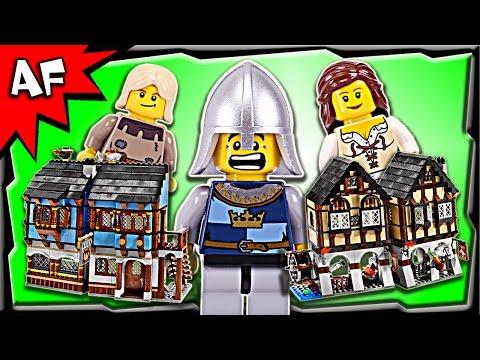 Vidéo LEGO Castle 10193 : Le village médiéval