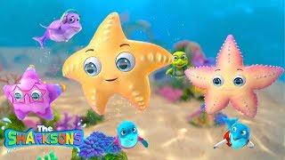 Twinkle TWINKLE Little STAR | Nursery Rhymes & Kids Songs! | Cartoons For Kids | Sharksons