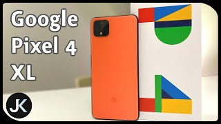 "Google Pixel 4 XL ""Oh So Orange"" 128Gb Unboxing and Video Samples"