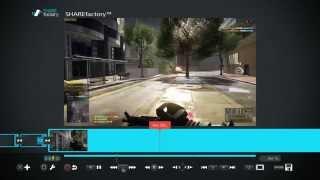 Обзор и монтаж в Share factory на PS4