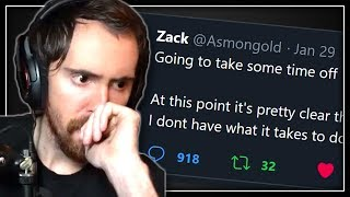 How Asmongold Almost Quit Streaming Forever: An Honest Talk About Mental Health