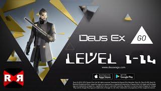 Deus Ex GO Level 1-14 - iOS / Android - Walkthrough Gameplay
