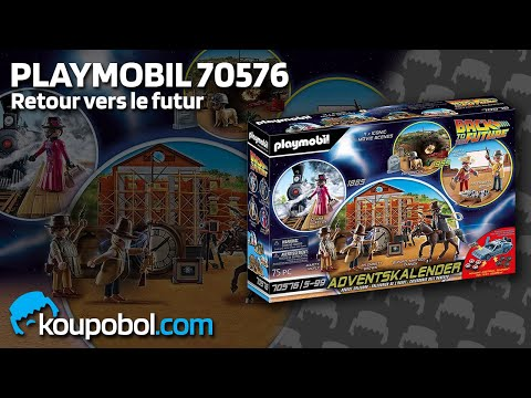 """Vidéo PLAYMOBIL Back to the Future 70576 : Calendrier de l'Avent """"Back to the Future Part III"""""""