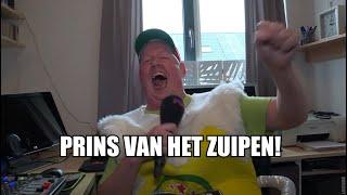 André Pronk in bierpak is Prins van het Zuipen