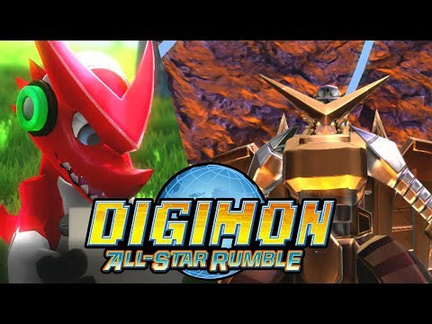 Digimon All-Star Rumble - Shoutmon Story Mode (1080p 60FPS)