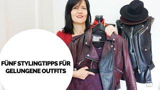 Fünf Stylingtipps mit diesen dir jedes Outfit gelingt