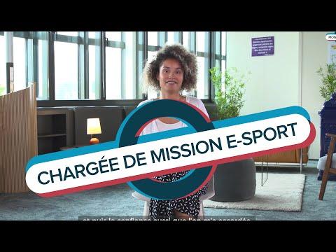 Video Mon job à Bercy | Chloé, chargée de mission e-sport