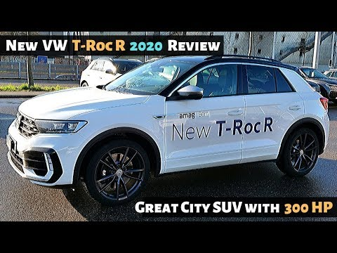 New VW T-Roc R 2020 In-Depth Review Interior Exterior