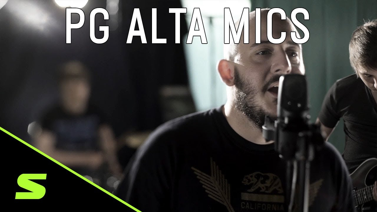 Shure PG ALTA Microphones - Product Overview