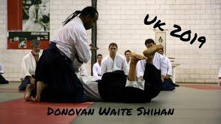 Donovan Waite Sensei seminar in UK