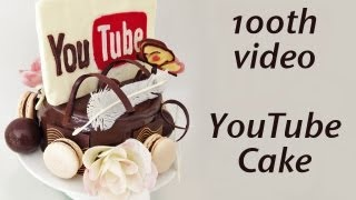 100th VIDEO! YouTube Cake Never Ending Chocolate HOW TO COOK THAT Ann Reardon