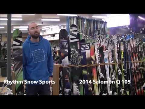2014 Salomon Q 105 Ski Review
