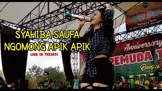 SYAHIBA SYAUFA -  NGOMONG APIK APIK Live In #Trijati GLAGAHAGUNG