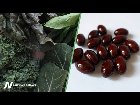 Az élelmiszerekben található látási vitaminokért
