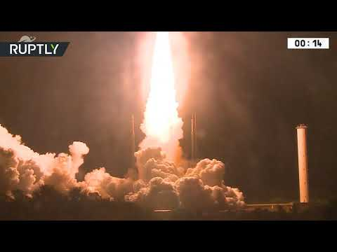 Europe's Ariane 5 rocket launched for the 100th time from French Guiana